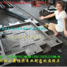 供应加工塑胶双向网状托盘模具
