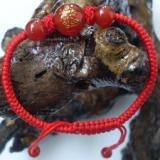 供应手工编织饰品红绳玛瑙手链手串