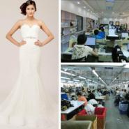 高端婚纱礼服定制来版加工来图加工图片