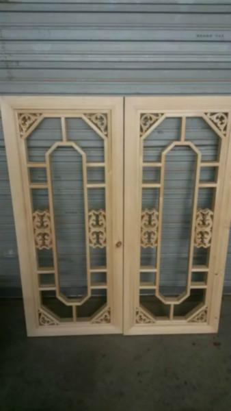 中式门窗精品花格_花格花窗批发_纯实木制作