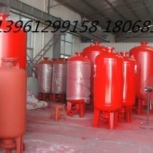 常州消防用气压罐立式不锈钢气压罐图片