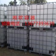 PE运输二手吨桶图片