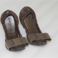 全新专柜正品LV平底单鞋跳舞女鞋