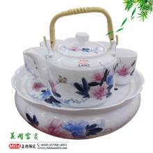 供应手绘陶瓷茶具 节日礼品陶瓷茶具套装