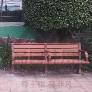 钢木休闲椅图片