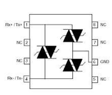 供应3021三端对称过压保护器件