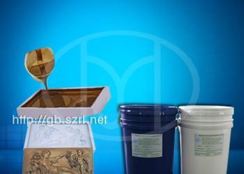 低熔点合金铜工艺品铸造模具硅胶图片