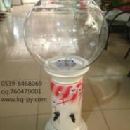 白色底座水培玻璃瓶图片