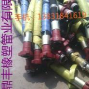 钢丝缠绕钻探胶管生产厂家图片