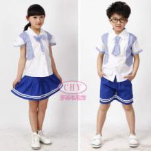供应小学校服男女童夏季儿童运动套装