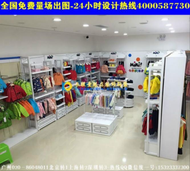 安徽童装店装修效果图韩国童装店装修图高清图片