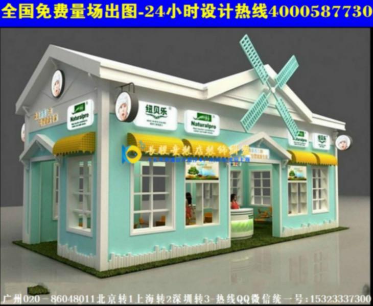 设计阶段是童装店装修的决定性阶段,它影响到童装店设计图片
