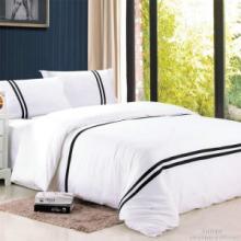 西安酒店用床單被罩圖片
