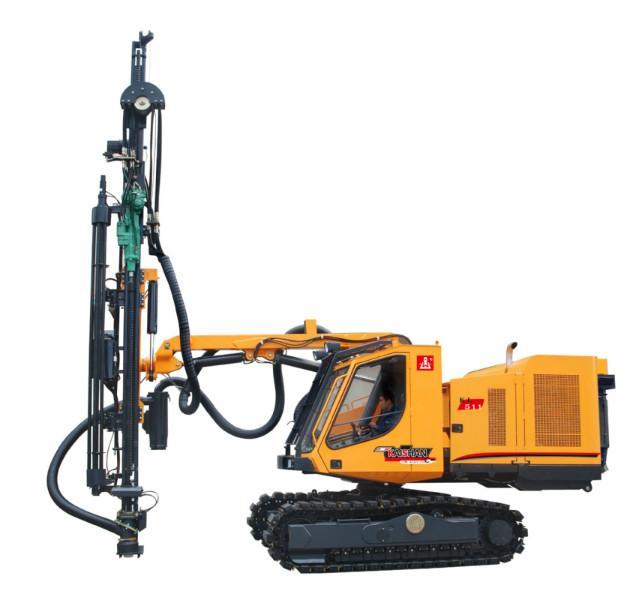 kl511配备重型液压顶锤式凿岩机(23.4kw).图片