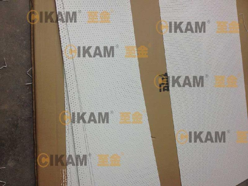 「至金CIKAM」华侨城传媒广告冲孔铝板广告牌