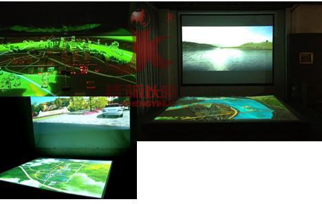 供应新疆电子互动投影沙盘