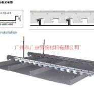 柳州高边防风条形铝扣板图片