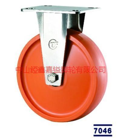 供应TF超重型不锈钢聚氨酯PU脚轮报价-中山不锈钢万向轮-刹车轮-定向轮