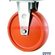TF超重型不锈钢聚氨酯PU脚轮报价图片