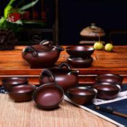 高档台湾日式手工粗陶茶具套装特价图片