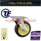 供应5寸6寸8寸欧款不锈钢重型耐磨脚轮 广东中山双轴承304不锈钢厂家报价