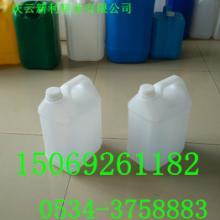 小口避光5升塑料桶价格,5KG乳白色塑料桶规格批发