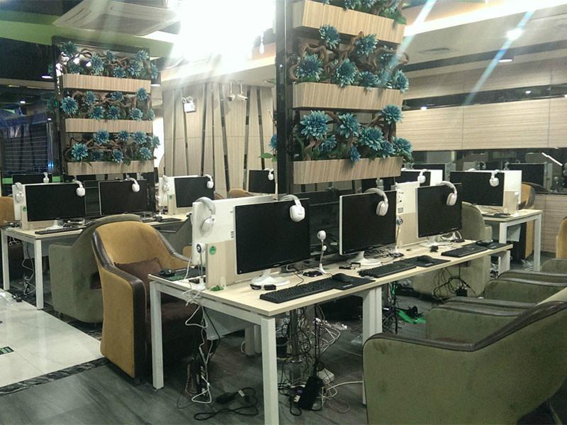 成都网吧网咖装修设计公司图片图片