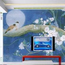 供应客厅电视背景墙效果图,客厅电视背景墙体彩绘 哪家强图片