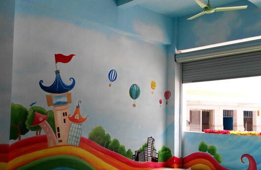 幼儿园手绘墙设计公司 图片合集图片