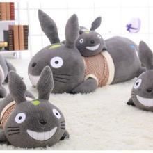 供应毛绒龙猫抱枕玩具可爱龙猫公仔