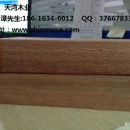 南通柳桉木栏杆加工厂图片