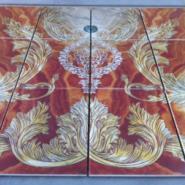 瓷砖水刀拼花UV平板喷绘机图片