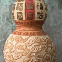 供应百福图葫芦工艺品天然葫芦工艺品