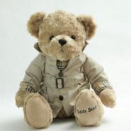 20CM坐姿穿衣泰迪熊图片