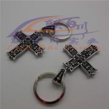 供应金属钥匙扣十字架钥匙扣钥匙扣品牌批发