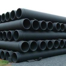 供应PE钢带管 缠绕增强管厂家直销