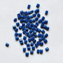 供应蓝色hips再生塑料注塑批发
