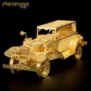 老爷车3d金属模型玩具热品拼装图片