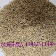 厂家供应太原保温砂浆用水洗砂图片