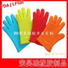 供应五指耐高温硅胶手套