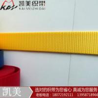 供应用于宠物带生产的2.5cm宠物带 珠纹涤纶/仿尼龙织带 温州凯美织带有限公司