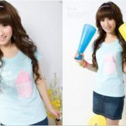 韩版潮流T恤图片