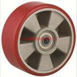 供应TF重型钢芯聚氨酯PU单轮-批钢芯脚轮厂价发-錏鑫嘉镒脚轮生产钢芯PU