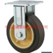 TF重型焊接支架定向固定静音脚轮图片