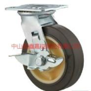 TF重型高弹力边刹脚轮图片