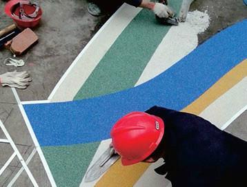 彩砂环氧地坪漆图片/彩砂环氧地坪漆样板图 (1)