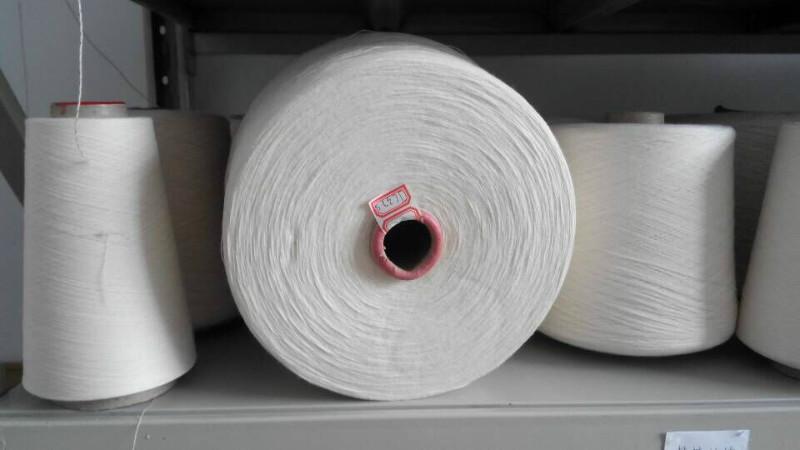 供应用于的紧密纺精梳纯棉纱120支