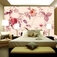 供应3D立体墙纸壁画无缝墙布自粘壁纸