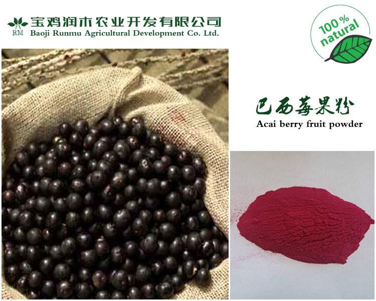 供应用于保健|食品|饮料的植物粉巴西莓粉