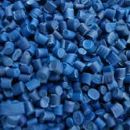 蓝色PP料PP塑料颗粒新料环保增强图片